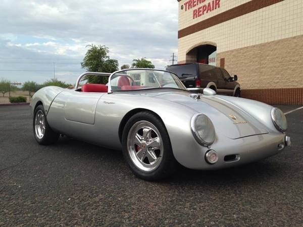 1955 Porsche Spyder Replica Car