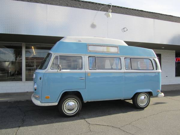 1971 VW Hightop Camper Bus For Sale