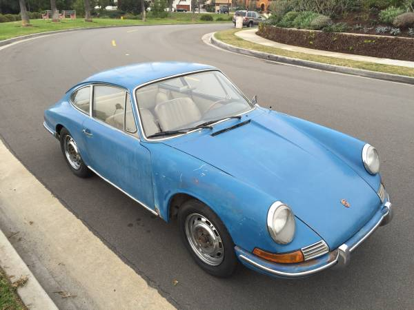 1966 Porsche 911 Golfblau For Sale