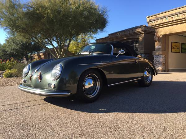 Recreation Porsche 356 Speedster