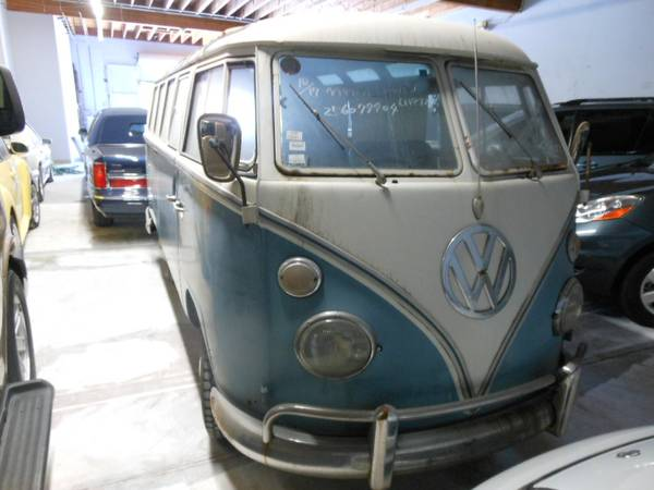 1966 VW T1 Sliding Door Bus