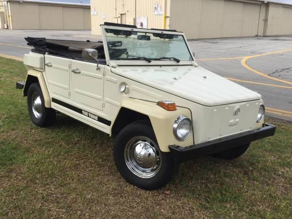 1973 VW Thing For Sale In Great Condition