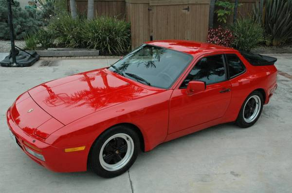 1986 porsche 944 turbo red buy classic volks. Black Bedroom Furniture Sets. Home Design Ideas