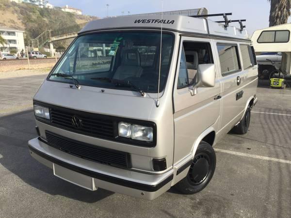 1989 VW Westfalia Vanagon Camper Van