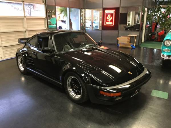 1987 911 Turbo Factory Slant Nose