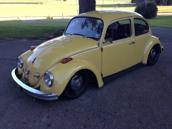 1972 VW Beetle Low Profile