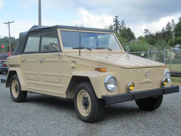 1974 vw type 181 for sale buy classic volks. Black Bedroom Furniture Sets. Home Design Ideas