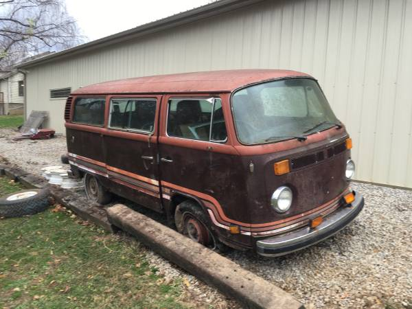 1978 VW Champagne Edition Bus Project