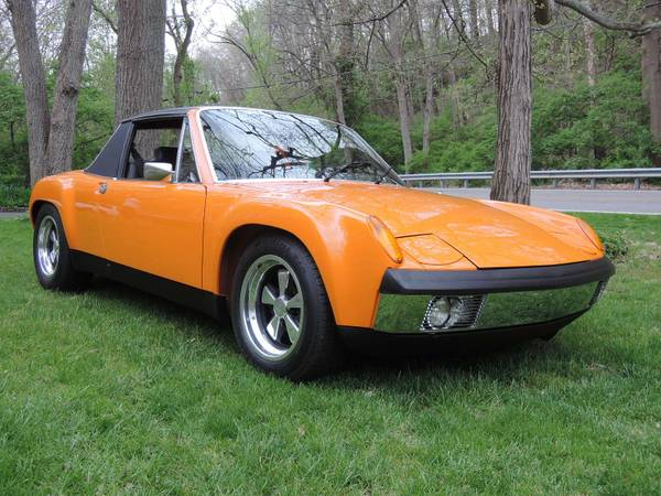 Completely Restored Porsche 914