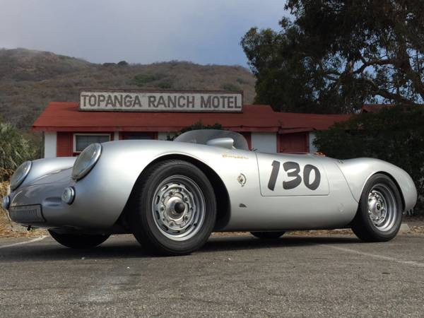 1955 Porsche 550 Spyder James Dean tribute