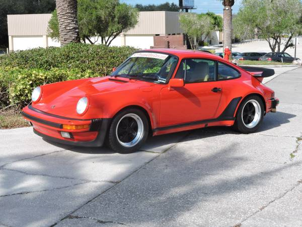 Original 1987 Porsche 911 Turbo