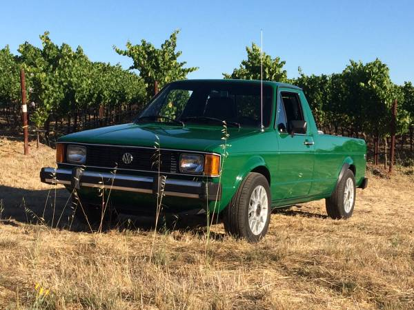 1982 Vw rabbit TDi pickup