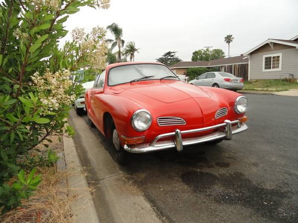 Beautiful Example 71 VW Karmann Ghia