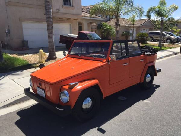 1974 vw thing 1600 dual port motor