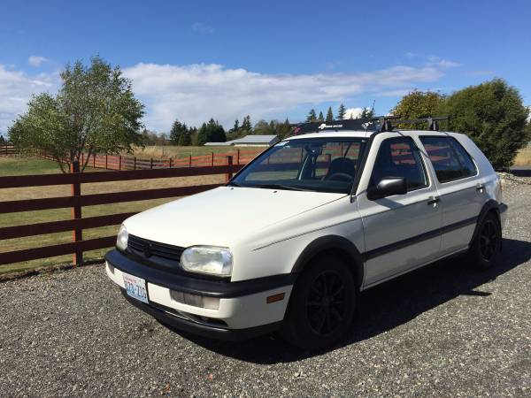 1998 VW Golf GL for sale