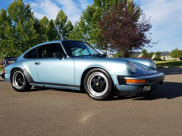 Always garaged, 1980 Porsche 911SC
