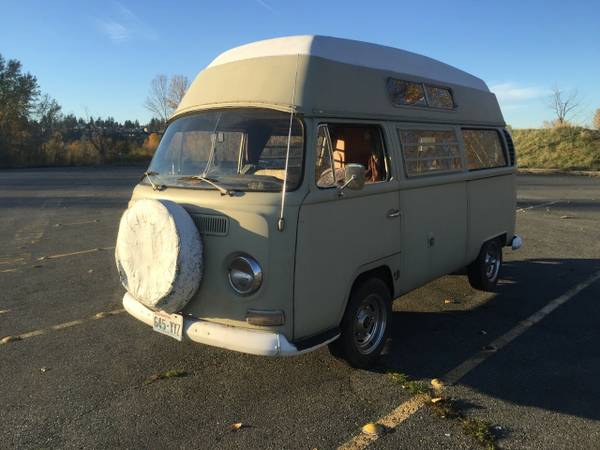 1968 VW Hightop Camper Bus