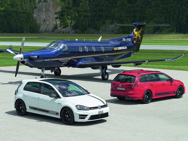 355 HP VW Golf R360S For Switzerland