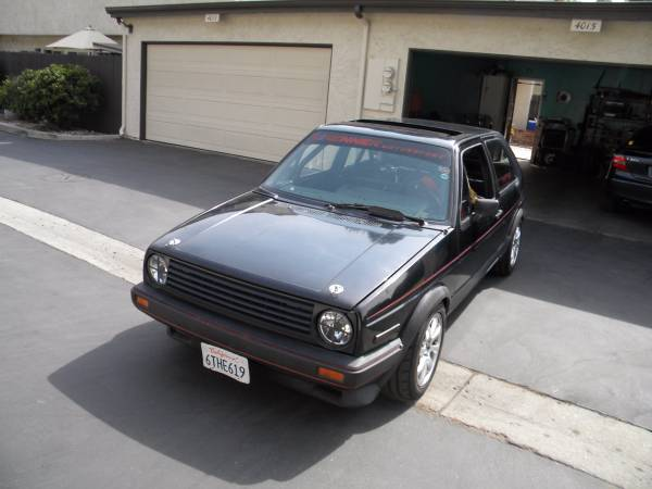 Race Car 1986 VW GTI
