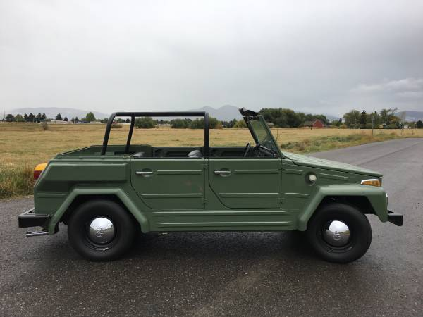 1974 volkswagen thing type 181 for sale buy classic volks. Black Bedroom Furniture Sets. Home Design Ideas