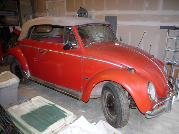 1964 VW Bug Convertible Project