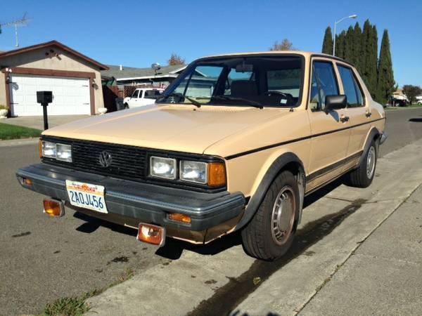 Classic 1983 Volkswagen Jetta