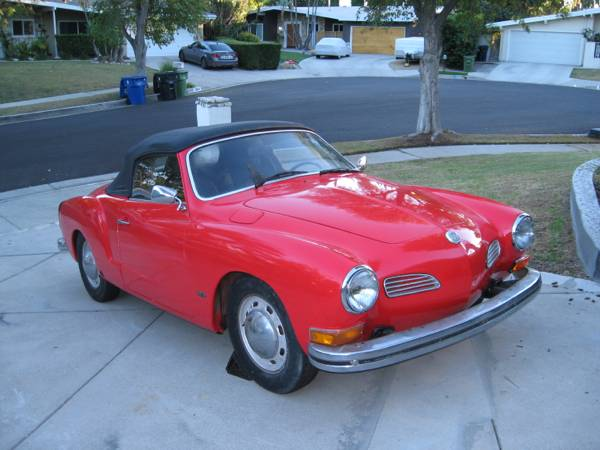 1973 VW Karmann Ghia Convertible