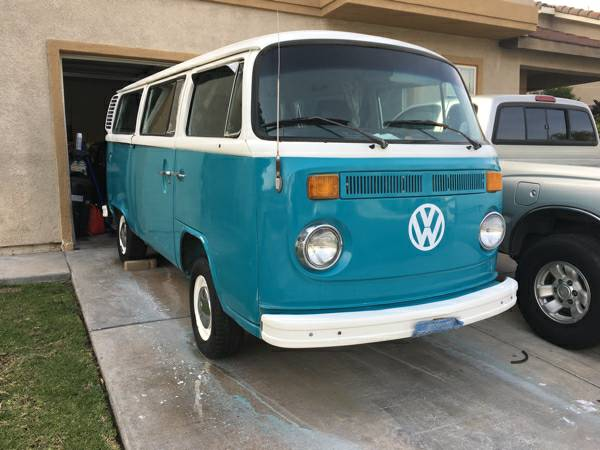 1977 VW Bus Bay Window California Bus