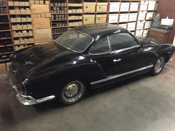 Black Beauty Volkswagen Karmann Ghia 1964