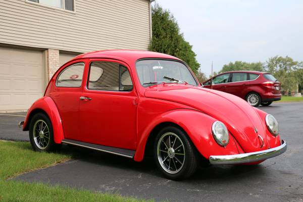 1960 VW Beetle California Look