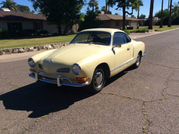 1970 VW Karmann Ghia Automatic