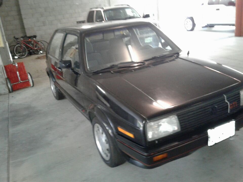 1985 Volkswagen GTI Covered Garage