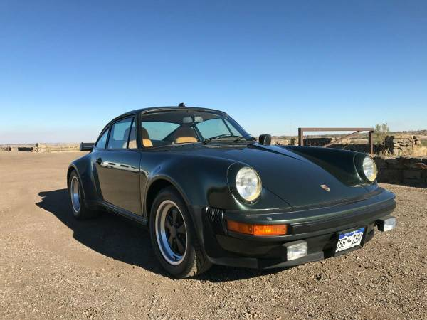 European 1980 Porsche 930 For Sale