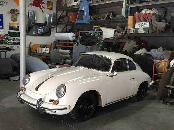 Beautiful Driver 1964 Porsche 356 C Coupe