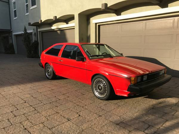 1983 Volkswagen Scirocco For Sale